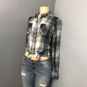 Mossimo flannel plaid shirt small